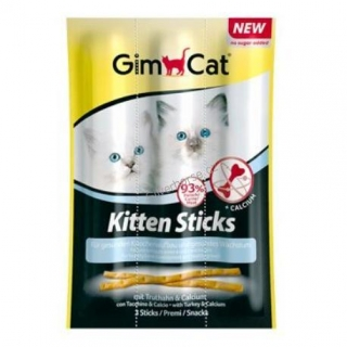 Gimpet Sticks Kitten krocan+calcium 3ks
