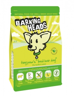 Barking heads Tiny Paws Bad Hair Day 1,5kg